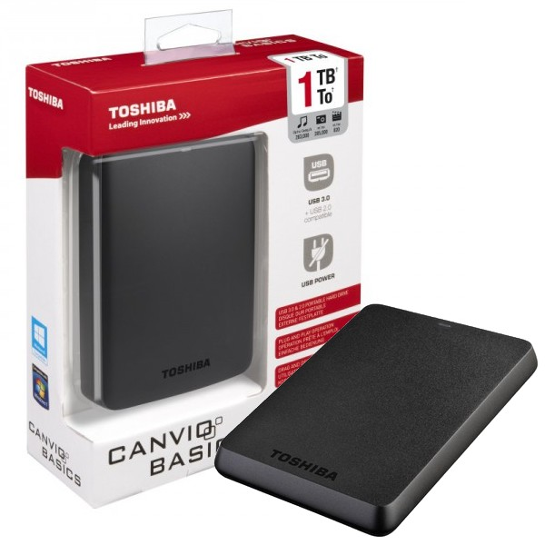 disque dur externe usb 3 toshiba 1 to. Black Bedroom Furniture Sets. Home Design Ideas
